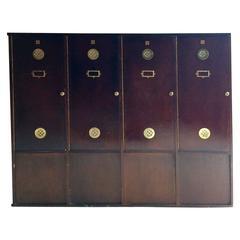 Haberdashery Lockers Cabinet Vintage Retro Mid-Century Industrial