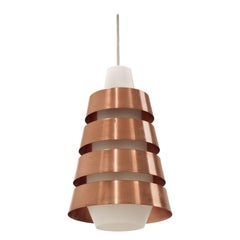 Wonderful Scandinavian Mid-Century Ceiling Pendant, 1950s