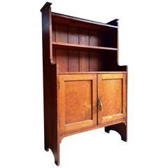 Antique Dresser Cabinet Herrmann American Golden Oak, 20th Century, 1904