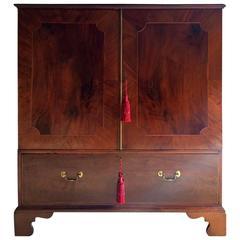 Antique Linen Press Dresser Dwarf Mahogany George III 18th Century, 1795