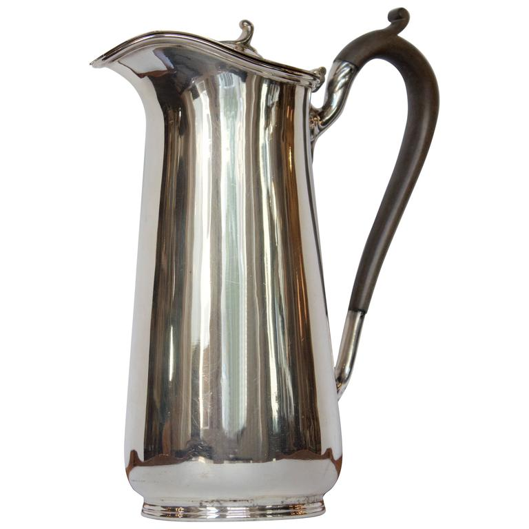Antique English Hot Chocolate or Coffee Pot For Sale
