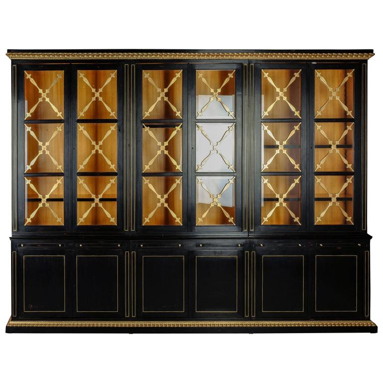 Biedermeier-style bookcase, 20th century