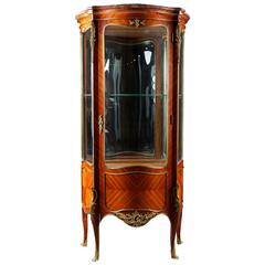 20th Century, Louis XV Style French Vitrine