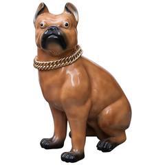 Piero Fornasetti Dog Sculpture Marked