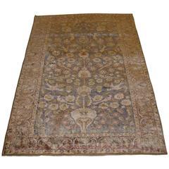 Antique Anatolian Kayseri Silk Rug, circa 1890