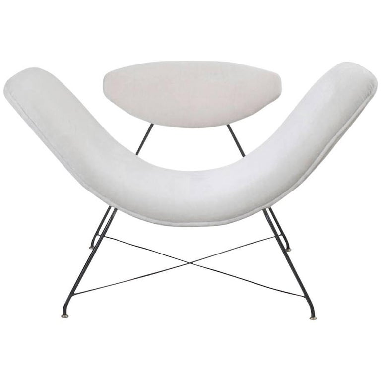 Martin Eisler & Carlos Hauner Armchair Manufactured by Forma, Brasil, 1955 For Sale