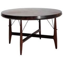 "Sergio Rodrigues Dining Table ""Stella"" Manufactured by Oca, Brazil, 1956"