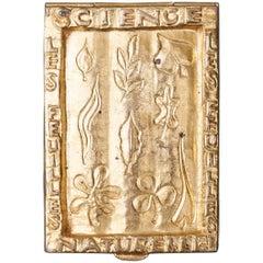 Line Vautrin Gilt Bronze Box Signed