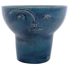 "Fabulous Ceramics Vase by Cosimo Venti, 2016, Part of the ""Volti"" Series"