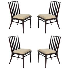 Set of Four Dining Chairs by T.H. Robsjohn-Gibbings