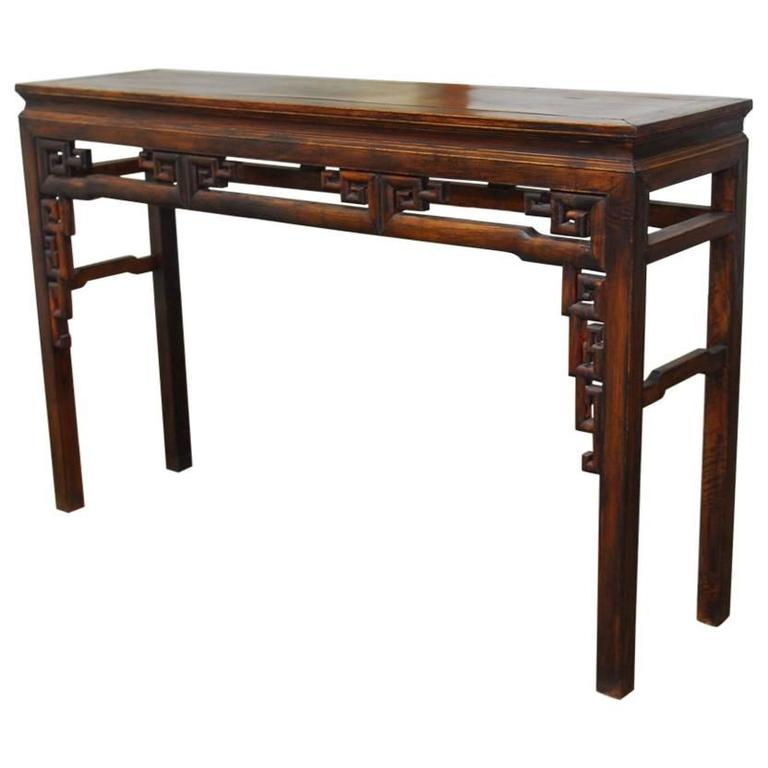 Superieur Qing Dynasty Chinese Altar Table For Sale