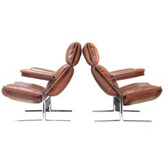Pair of Lounge Chairs by Richard Hersberger