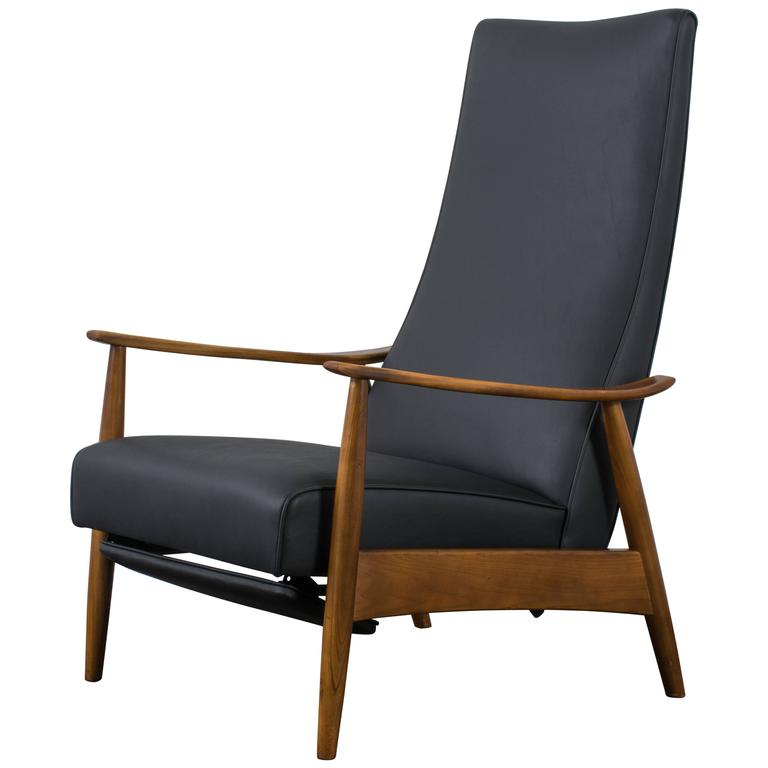 Milo Baughman Recliner Lounge Chair 1960s At 1stdibs