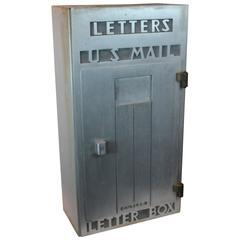 Art Deco Large Scale Letter Box
