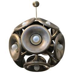 Italian 1960s Esperia Dandelion Pendant