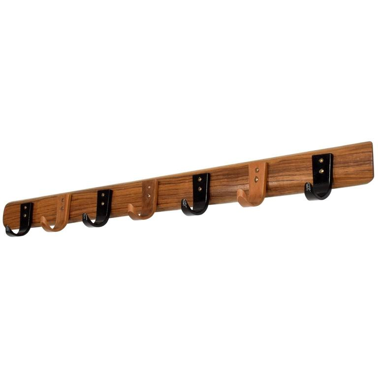 Mid Century Modern Wood Coat Rack For Sale At 1stdibs