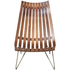 """Hans Brattrud Rosewood """"Scandia"""" Lounge Chair for Hove Mobler Norway"""