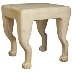 "John Dickinson ""Etruscan"" Plaster Table"