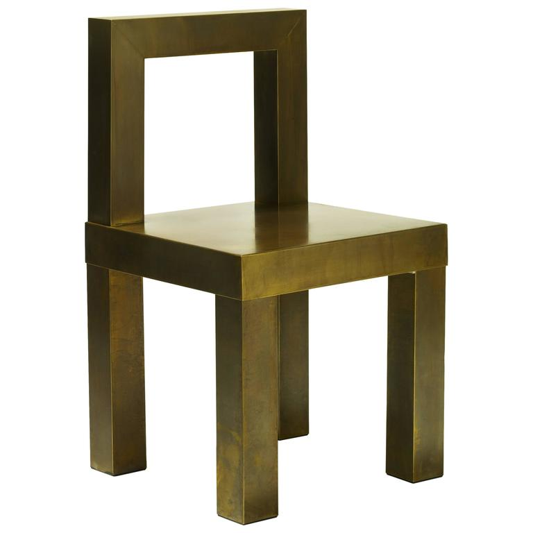 Sturdy Low Back Chair At 1stdibs