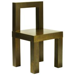 Sturdy Low Back Chair
