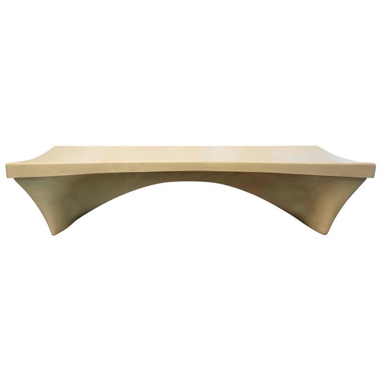 Stylish Fiberglass Bench by Douglas Deeds 1