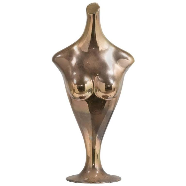 Mercury Resin Female Torso, 1960s For Sale