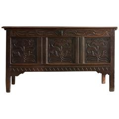 Charles II Oak Chest
