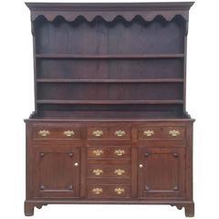 18th Century George III Period Oak Dresser