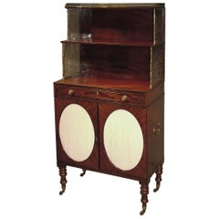 Early 19th Century Regency Period Figured Mahogany Chiffonier