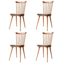 Set of Four of French Chairs