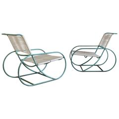Pair of Lounge Chairs by Kipp Stewart for Terra