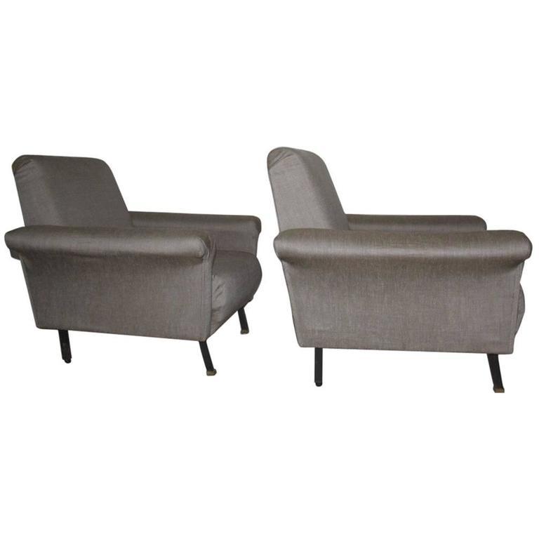 Italian Armchairs 1950s Design