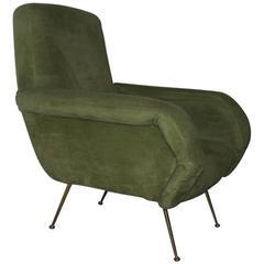 Italian Armchair Mid-Century Design, 1950s