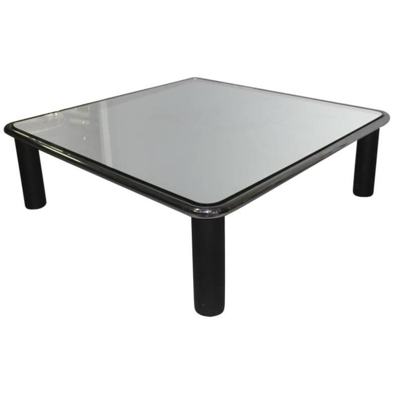 Large Coffee Table Mirrored Mario Bellini Bu0026B, ...