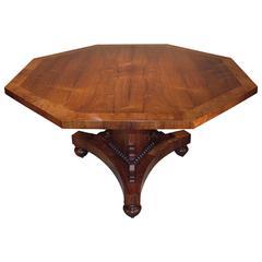 Early 19th Century Regency Period Rosewood Breakfast Table