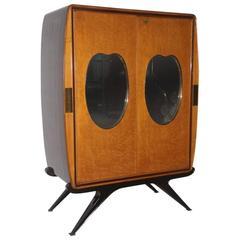 Rare Particular Cabinet, style of Osvaldo Borsani Design