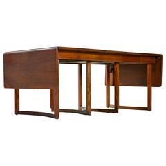 Refinished Vintage Robsjohn-Gibbings Expanding Table