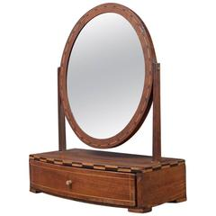 Small Table Mirror, Biedermeier, circa 1830