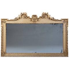 Fine George II Giltwood Overmantle Mirror