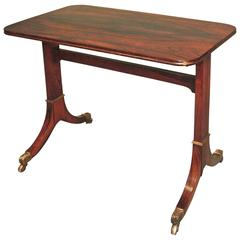 Antique Regency Period Rosewood Side Table