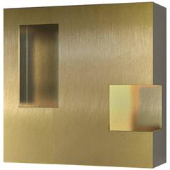 Contemporary Brass 001 Sconce by Orphan Work, 2017