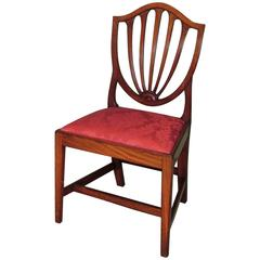 Single Hepplewhite Shield-Back Side Chair