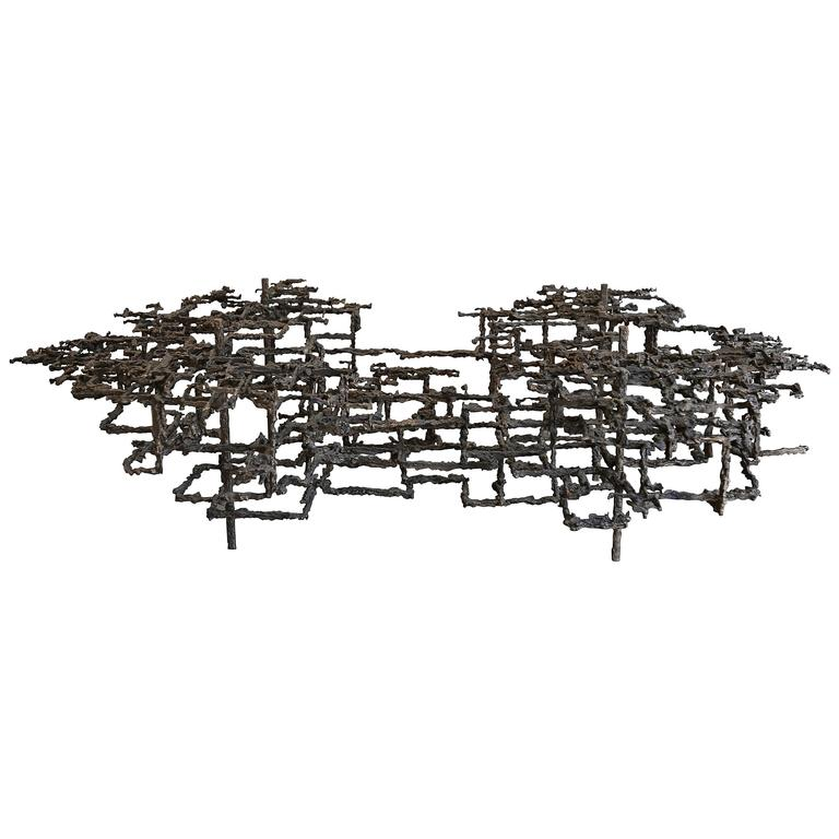 Sculptural Coffee Table by Daniel Gluck = MOVING SALE!!!!!!