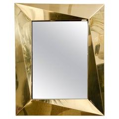 Fantastic Polished Brass Mirror