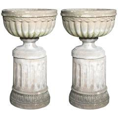 Pair of English Garden Urns
