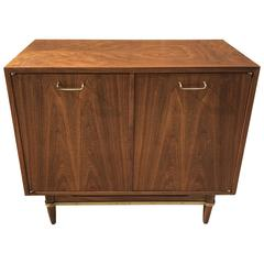 Mid-Century Walnut Cabinet by Merton Gershon for American of Martinsville