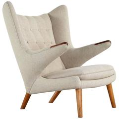 Hans J. Wegner Papa Bear Easy Chair by AP Stolen Model AP90, 1951