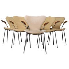 Set of Six AJ3207 Chairs by Arne Jacobson, Fritz Hansen