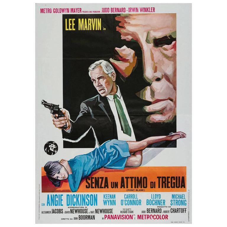 Point Blank Original Italian Film Poster, 1967