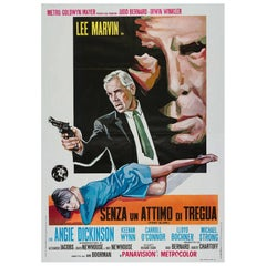 Point Blank Original Italian Film Poster, 1967